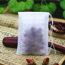 Non-woven Drawn lines, pull rope, self-styled filter bag tea bag