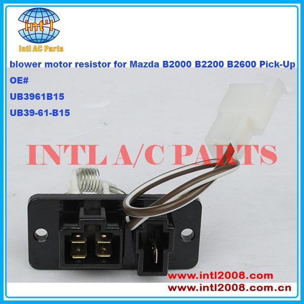 Ub3961b15 Ub39 61 B15 Heater Blower Motor Regulator