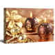 Light Up Wall Decor LED Light Canvas Painting Gold Candle HD Picture Print On Canvas