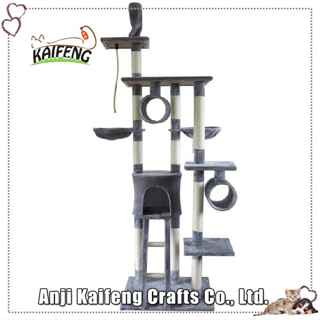 Hot Selling Cheap Modern Design Cat Tree Wood