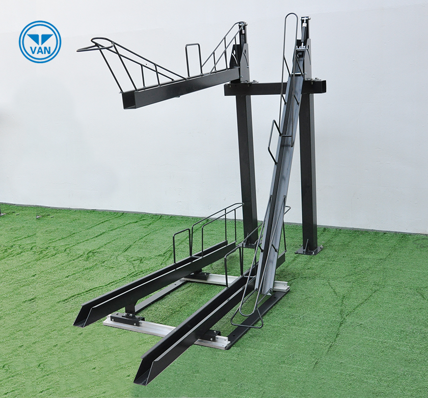 Double deck two tier bike rack HOT-DIPPED GALVANIZED