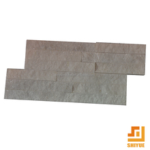 Hot Sale White Color Cut To Size Natural Stone Slate For Wall Cladding