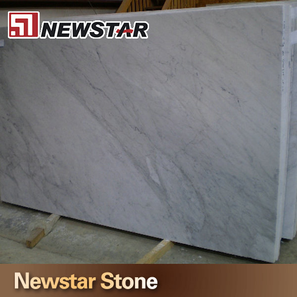 Made in China polished white carrara volakas marble