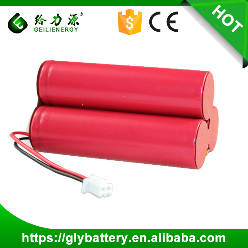 3.7v 6000mah Li-ion 18650 rechargeable battery pack