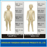 Dongguan Factory realistic child mannequin doll sized mannequin