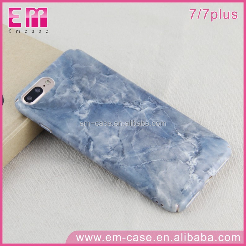 2017 Hot Sale Super Amazing Reality IMD Marble PC Phone Case For iPhone7 7plus