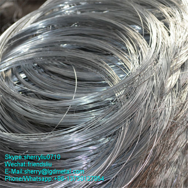 Galvanized Steel Wire For the manufacture of Barbed Wire for Fence-------GWSL855