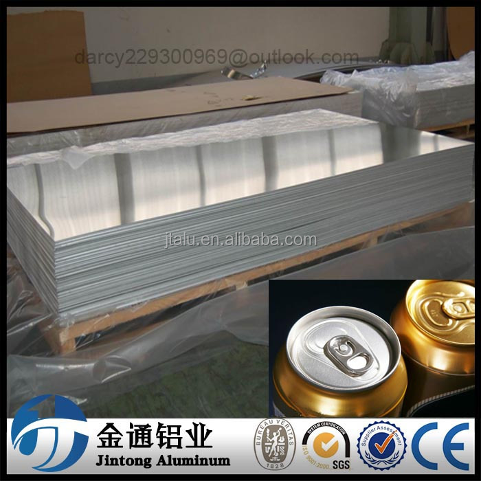 can lid material 5052 H19 aluminum 4ft x 8ft sheets