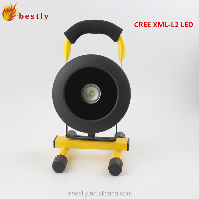 20W battery powered led working lanterns with portable handle and stable stand