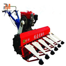 High quality rice wheat reaper mini wheat cutting harvester machines