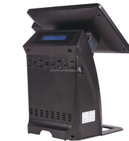 Touch screen all in one system pos terminal with card reader ZQ-P1088 mini from Zonerich