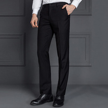 Casual straight dress pants men's clothing manufacturers overseas