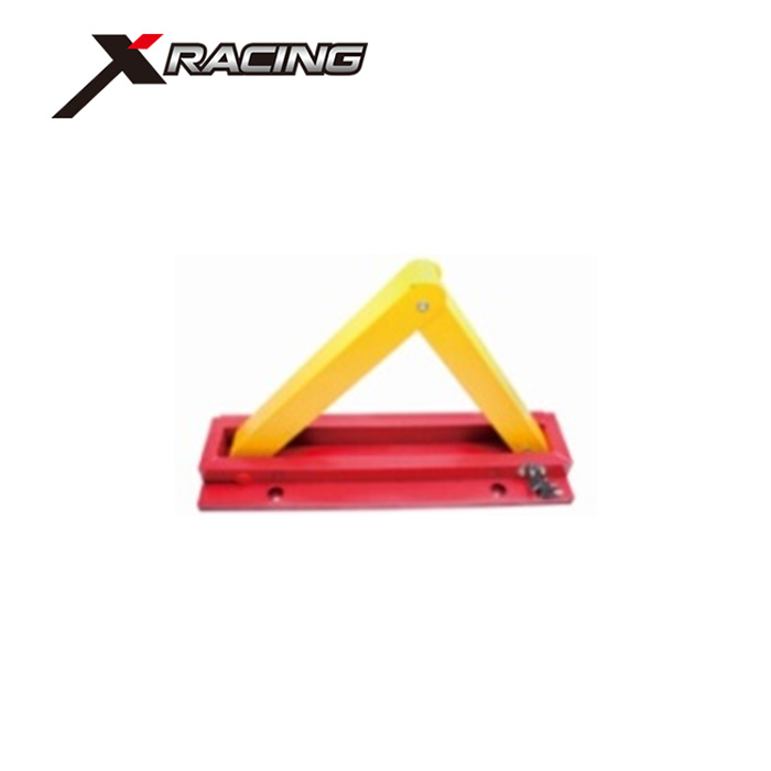Xracing JB6012 wheel alignment clamp Promotion auto security protection device folding durable safety yellow car wheel clamp