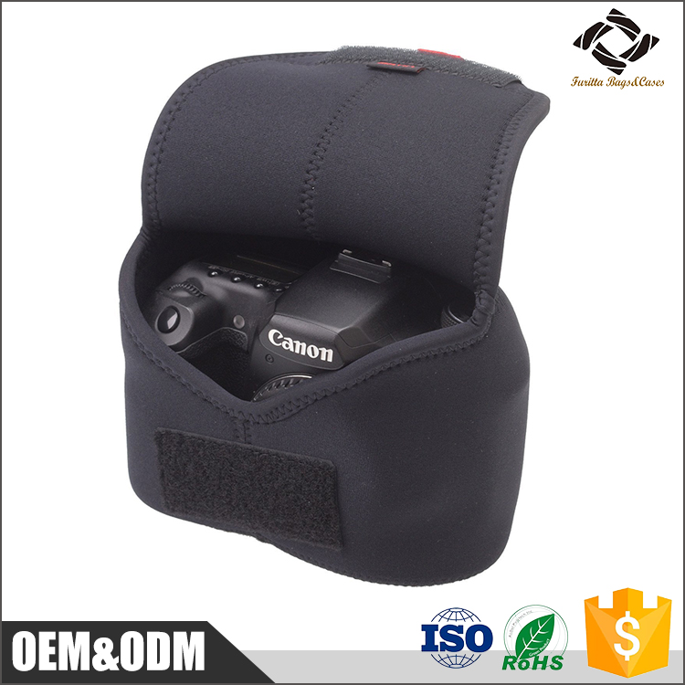 Custom Neoprene Digital Camera Case waterproof and Shockproof Sleeve Camera Protector