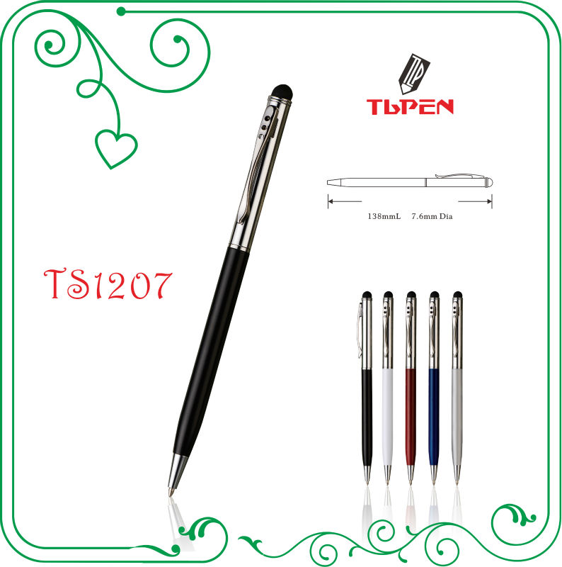 high sensitive stylus pen for ipad/iphone/tablet PC TS1207