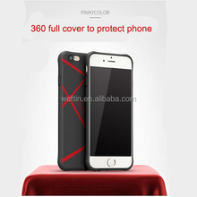 Best new color stripe silicone soft mobile phone case for iphone 6s plus case