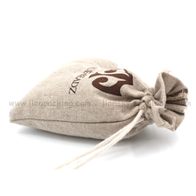 factory drawstring small linen bags