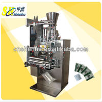 double tea bag packing machine inner and outer