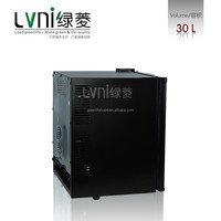 good quality LVNI 30L compact hotel room refrigerator without compressor /mini display fridge