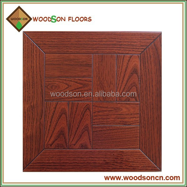Antique Embossed Red Teak Parquet Wood Flooring Price