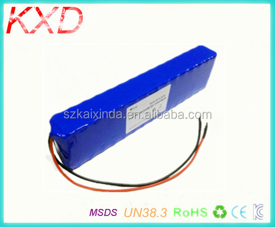 KXD light weight 12v 30ah lithium battery for electric bike