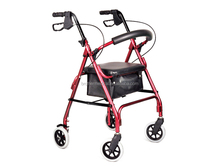 lightweight Disable Walking Aids foldable rollator walker with CE / FDA zy