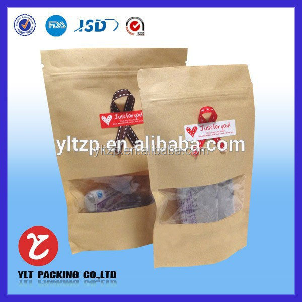 Custom thin paper bags packaging