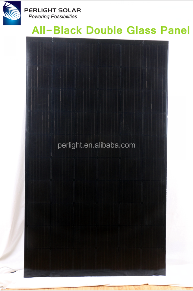 Perlight Free Design Bipv 120W 150W 200W Transparent Bipv Solar Panel