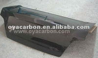 carbon fiber car rear hood for Subaru