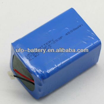 6.4V 4500mAh Lithium Iron Phosphate Battery Pack LiFePO4 Battery Rechargeable Battery For E-bike lights,LED lights
