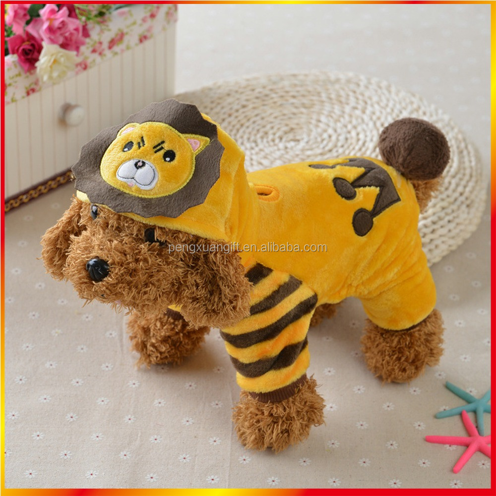 New Hot Selling Cartoon Soft Dog Clothes Top Quality Clothes Of Dog Wholesale Dog Clothes Pet Accessories