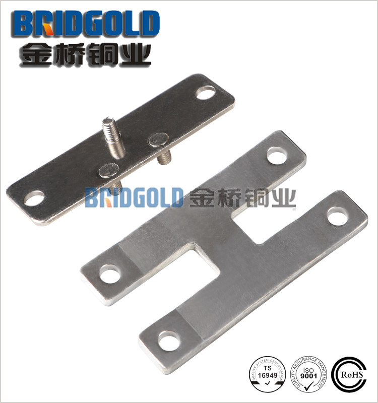 200A tinned copper foil connector, flexible copper busbar