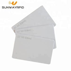 D21 EV2 RFID Access Control PVC Chip blank card