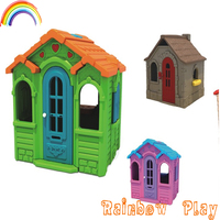 en71standard funny toddler play toy plastic indoor house with factory bottom price