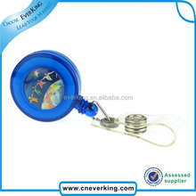 factory hot selling plastic id badge holder with led light china wholesale