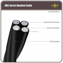Overhead XLPE insulated ABC Cable/Aerial Bundle Cable/Service Drop Wire