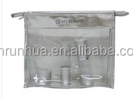 Best Selling Promotional Clear PVC Fashion Travel Cosmetic Bag