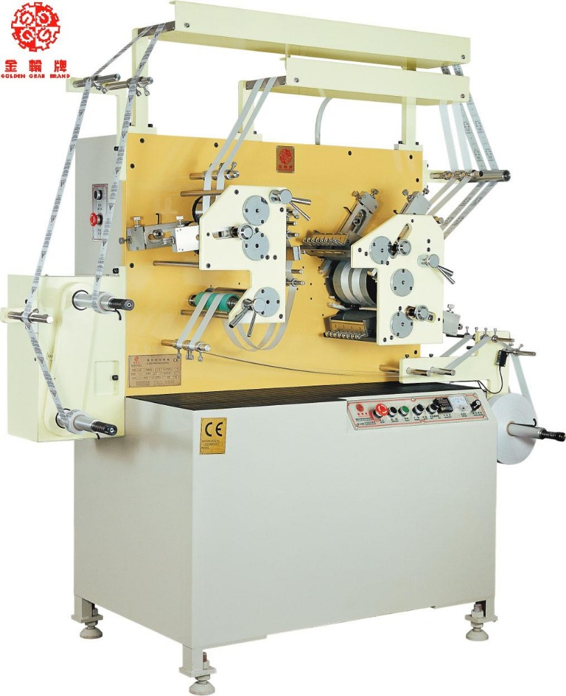 taffeta clothing label flexo printing machine