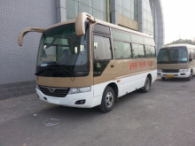 Shaolin 15-24 seats coaster model city bus mini bus fos sale