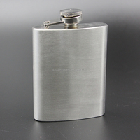 4oz stainless steel hip flask YGC-G04 golf