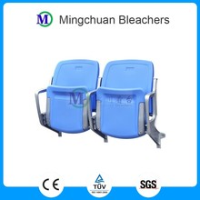 Cancer tip-up stadium seats plastic chair with backrest used for stadium bleachers chair