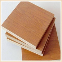 Best price melamine laminated mdf board