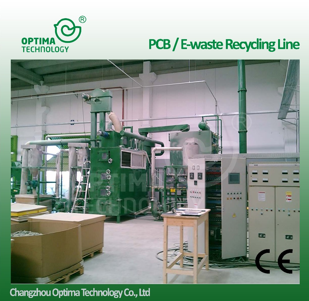 Electronic Component Waste Pcb Board Recycling Machine Made in China