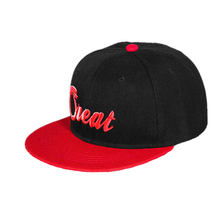 Two Tone Embroidery Small Size Children Snapback Hat Cap Manufacturer