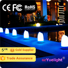 8 colors remote led wedding decoration battery operated ball light