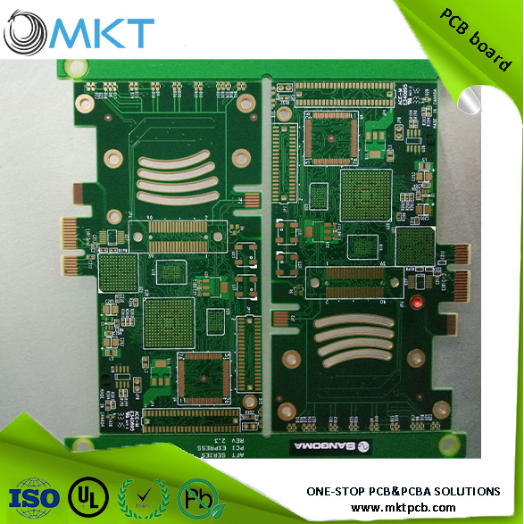 Electronic pcb prototype design Flexible printed circuit for keyboard