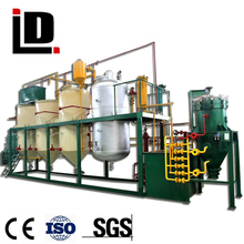 Hot sale small dewaxing & degumming palm crude oil refining machine