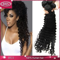 Big sale mixed length natural curly hair weaves for black women