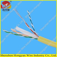 yellow utp cat6 ethernet lan network cat 6 cord cable wire 1000ft
