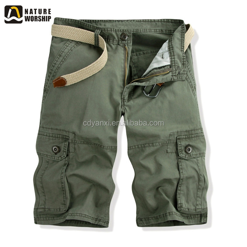 Custom Men Latest Model Short Cotton Pants, Outdoor Summer Casual Chino Pants Trousers